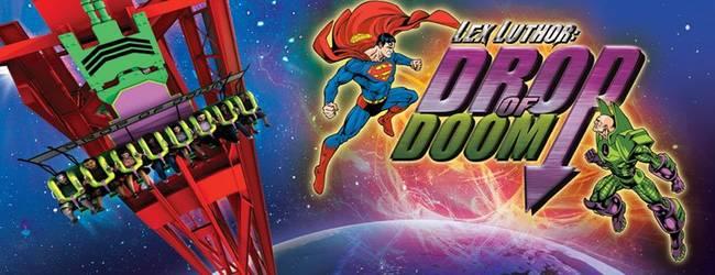 Drop of Doom © Six Flags Magic Mountain