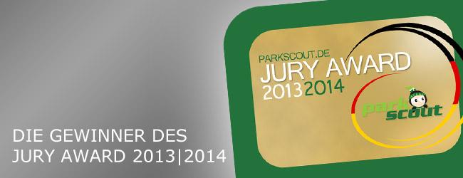 Parkscout.de Jury Award 2013|2014