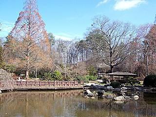 Long Life Lake im Japanischen Garten. © AuburnPilot