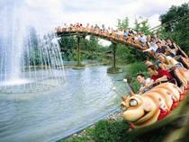 Achterbahn im Erlebnispark Tripsdrill © Erlebnispark Tripsdrill